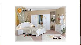 Спальня Лола 6Д Миро-Марк