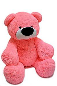 Большой розовый плюшевый медведь Бублик 2м