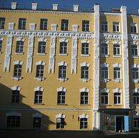 Окраска фасадов здания