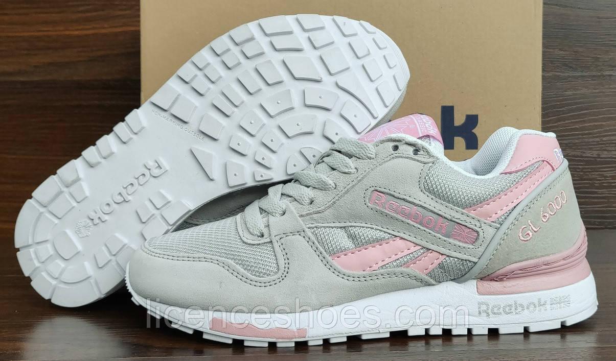 reebok gl 6000 grey pink
