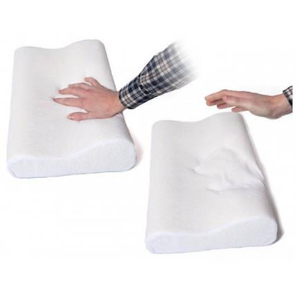 Ортопедическая подушка с памятью Memory Foam Pillow Новинка!, фото 2