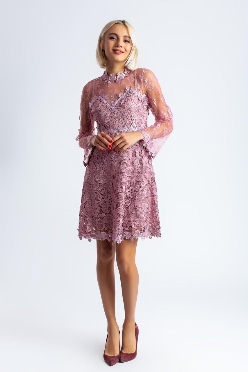 Кружевное платье ал169