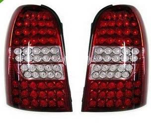 Диодные фонари Led тюнинг оптика SsangYong Rexton красные