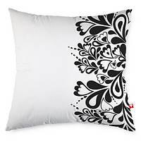 Декоративная подушка Черное и белое