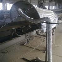Фумигация зерна в потоке