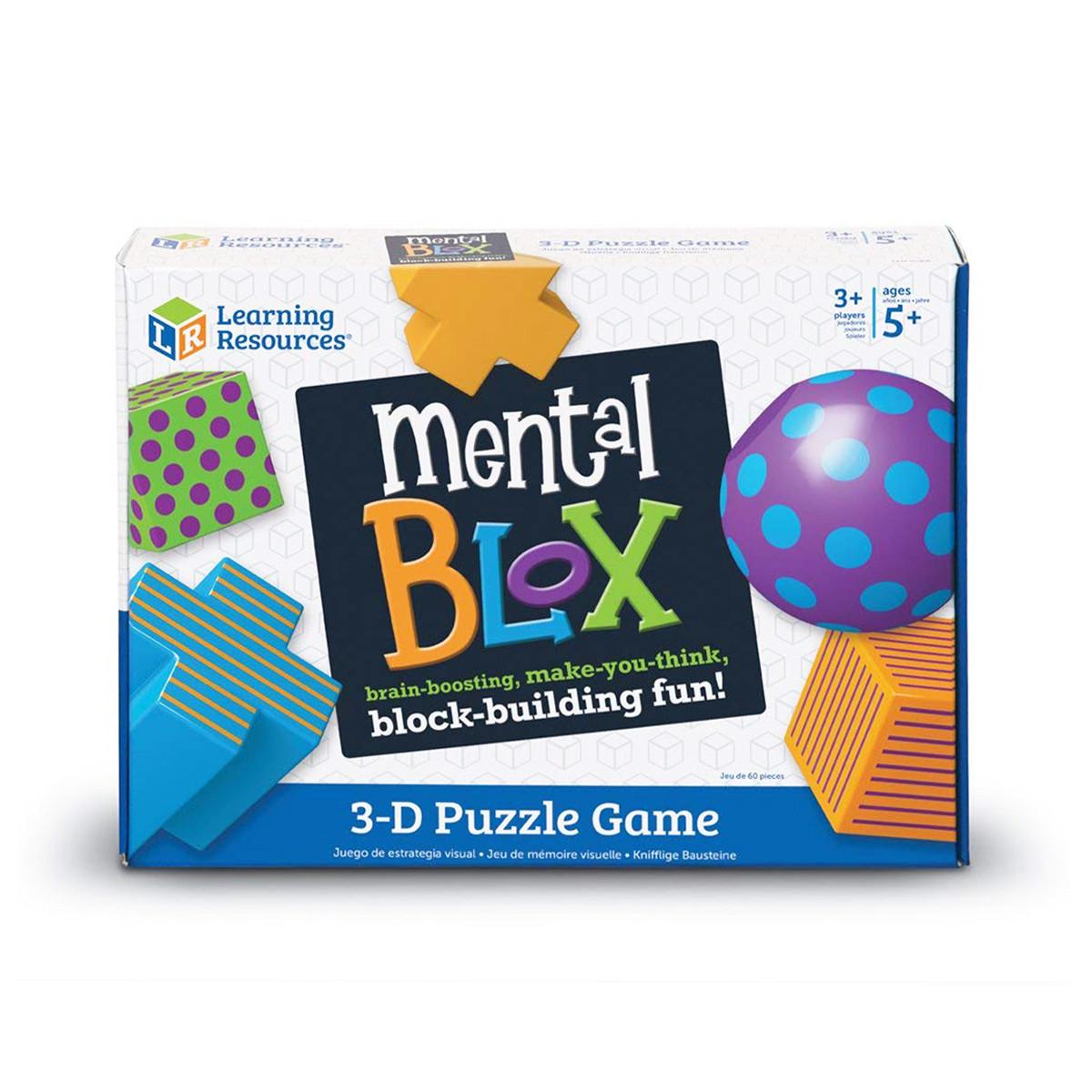 Развивающая игра МЕНТАЛ БЛОКС Learning Resources LER9280, фото 1