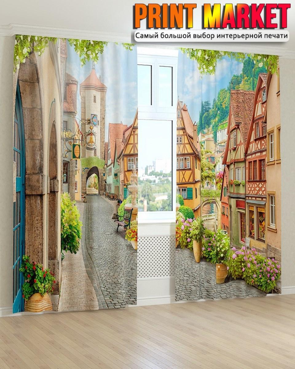 Фотошторы фрески Германия
