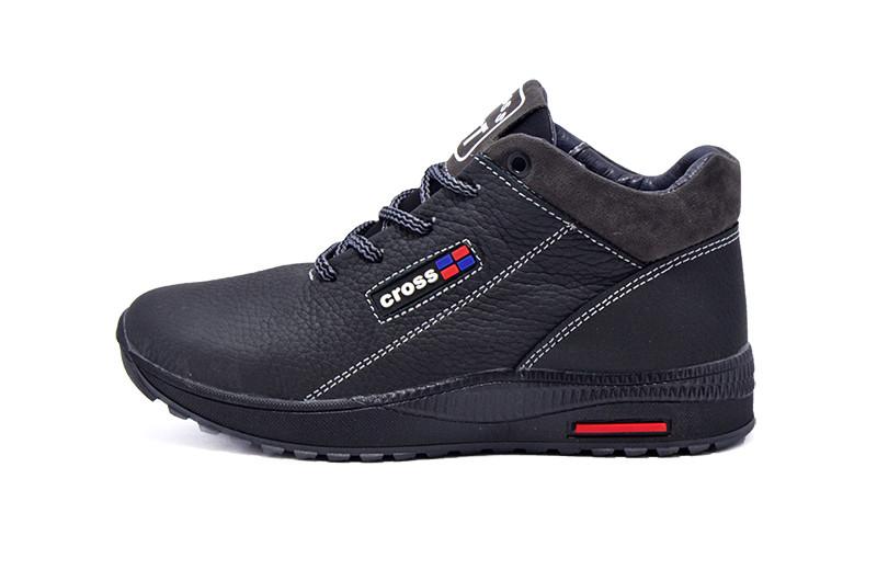Ботинки зимние подростковые SAV 39 NQ1 99947 Black Gray