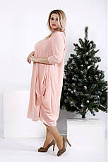 Новинка! женское демисезонное платье больших размеров 42-74, фото 2