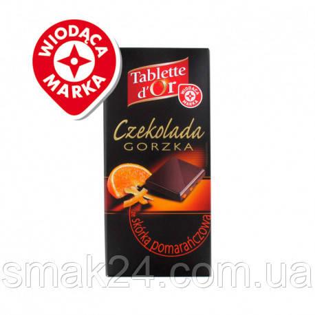 Шоколад черный с апельсином Tablette D'or Orange 70% какао  100г Франция