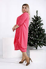 Новинка! женское демисезонное платье больших размеров 42-74, фото 3