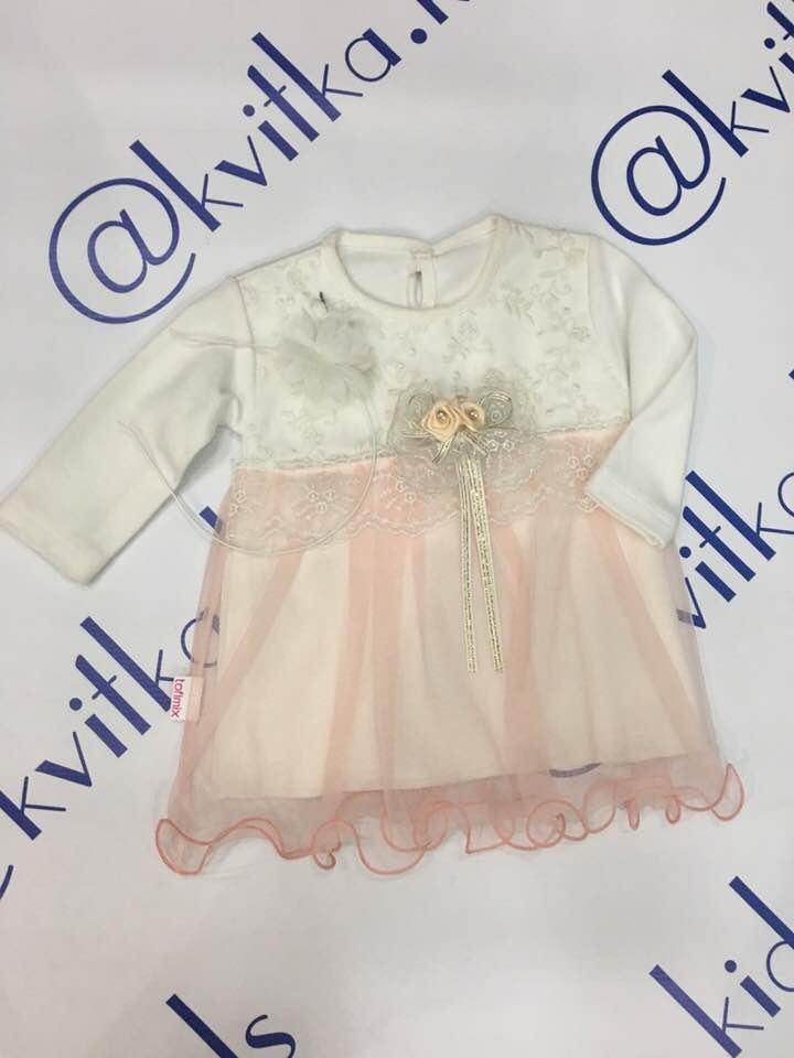 Платье на девочку размер 74