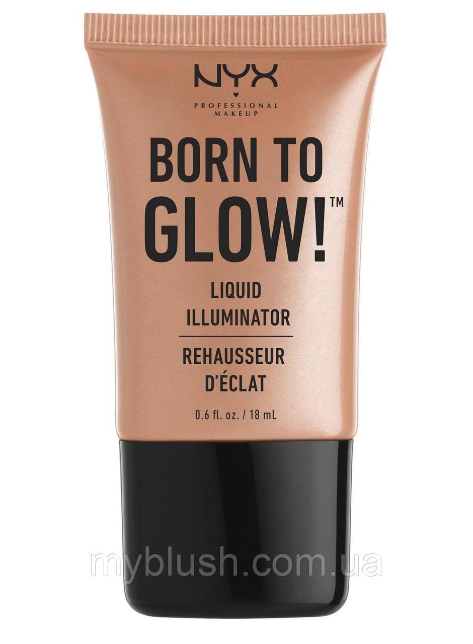 Жидкий хайлайтер NYX Born To Glow Liquid Illuminator (Gleam)
