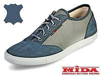 Слипоны кожаные  МИДА 11189(12) 42