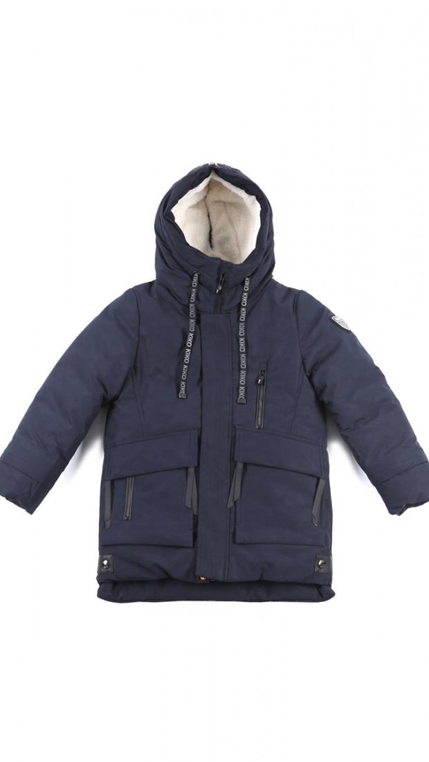Дитяча зимова куртка для хлопчика від KIKO 5021Б, 146-170