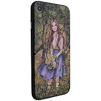 "TPU+PC чехол YCT картина для Apple iPhone 7 / 8 (4.7"") Девочка в саду"
