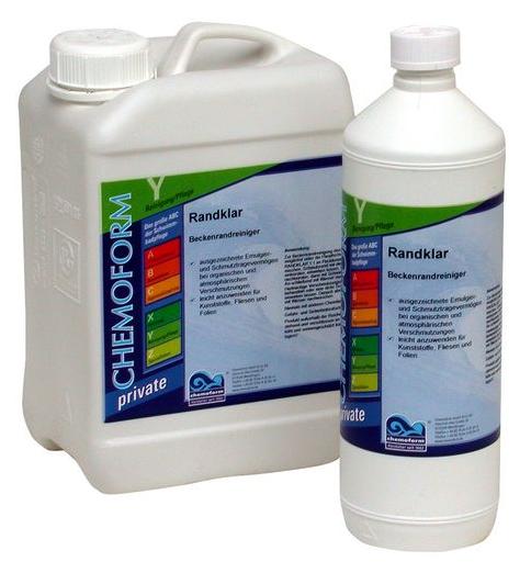 Средство для очистки стен бассейна и ватерлинии Randklar Freshpool, 3 л