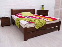 Кровать с изножьем Айрис 160-200 см (темный орех)