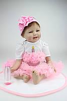 Лялька реборн дівчинка 55см. (271)