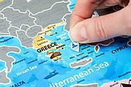 Стирающаяся скретч карта Европы Discovery Map Europe (в тубусе) английский язык, фото 4