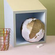 Скретч глобус 3D World Map Scratch Globe Luckies, фото 2