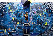 Морская скретч-карта мира My Map Discovery edition (английский язык) в тубусе + постер с флагами, фото 3