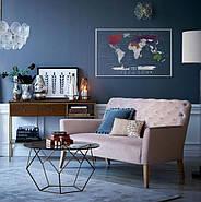 Прозора скретч карта світу Travel Map World AIR (англійська мова) в тубусі, фото 7