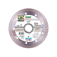 Алмазний відрізний диск DISTAR по керамічній плитці, мармуру, 125мм, 1A1R Decor Slim 5D/ 11115427010, фото 1