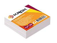 Бумага для записей KR-2111 85х85мм, 300листов цветная не клеенная Krok уп42