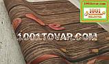 "Кухонный коврик из льна на резиновой основе ""Love"" 140х70х0,5 см., фото 4"