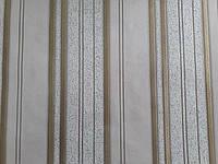 Обои вспененный  винил на флизелиновой основе тонированные 1м Крокус 8041 Вояж фон 1,06м X 10,05м Бежевый