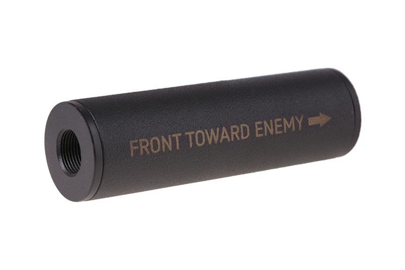 """Tłumik Covert Tactical Standard 30x100mm """"Front Toward Enemy"""" [Airsoft Engineering]"""