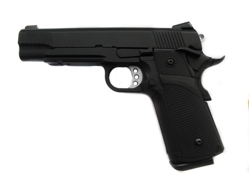 Страйкбольный пистолет KP-05 (green gas) - black [KJ WORKS] (для страйкбола)