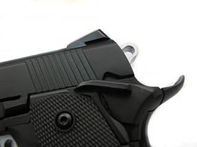 Страйкбольный пистолет KP-05 (green gas) - black [KJ WORKS] (для страйкбола), фото 3