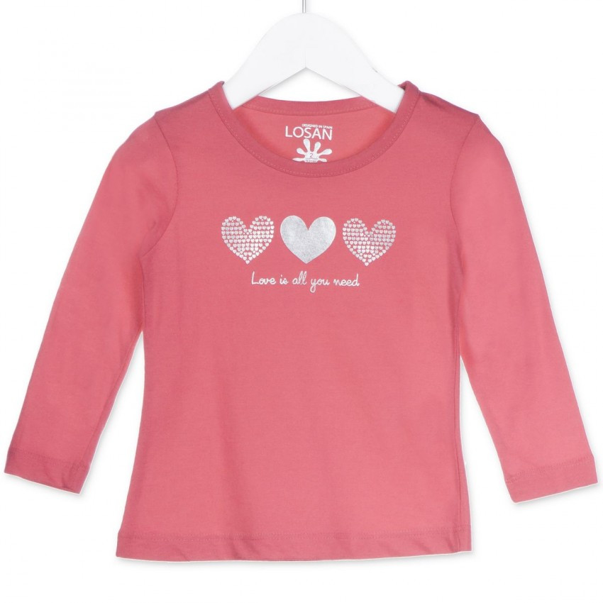Джемпер для девочки Rosa Chicle Losan 826-1630280 Розовый