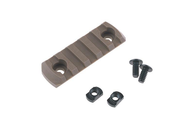 Полимерная szyna M-LOK 5 Slot - Coyote Brown [TMC]