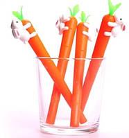"""Ручка шариковая 3009-BP """"Заяц на морковке"""" синяя уп12 бл144"""