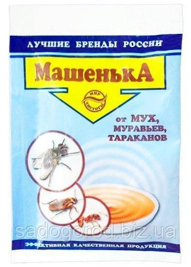 Машенька для уничтожения мух, тараканов и муравьев гранулы 10 г