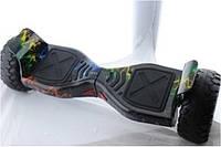 """Гироборд 8.5"""" HM №10 Молния синий, красный, желтый, зеленый (АКБ Samsung), Гироскутер с  мощным двигателем"""
