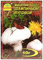 Мицелий гриба Шампиньон Луговой, 10 г