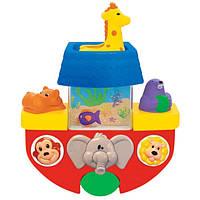 Развивающая игрушка Лодочка (для игры в ванной)