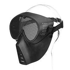 Защитная маска для страйкбола, лыжная маска, спортивная маска, веллосипедная, Хеллоуин, фото 2