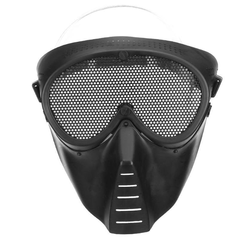Защитная маска для страйкбола, лыжная маска, спортивная маска, веллосипедная, Хеллоуин
