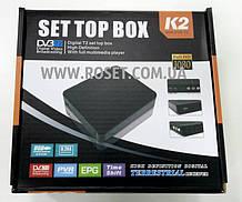 Цифровой приемник Set Top Box DV3-T2 K2 Ресивер