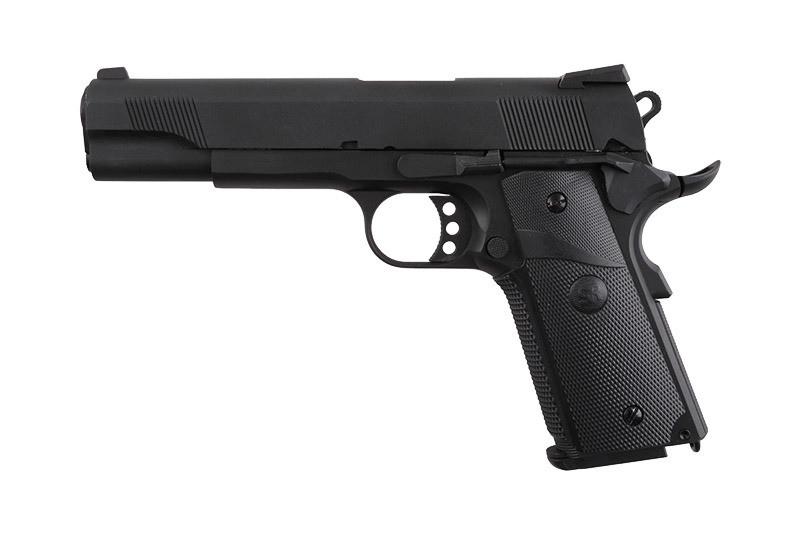 Страйкбольный пистолет SR-911 MEU - black [SRC] (для страйкбола)