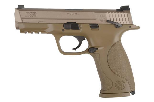 Страйкбольный пистолет Smith&Wesson M&P9 Vcustom - FDE [Tokyo Marui] (для страйкбола), фото 2