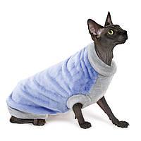 Свитер Pet Fashion Томас для кошек, S, сиреневый, Томас S сирень
