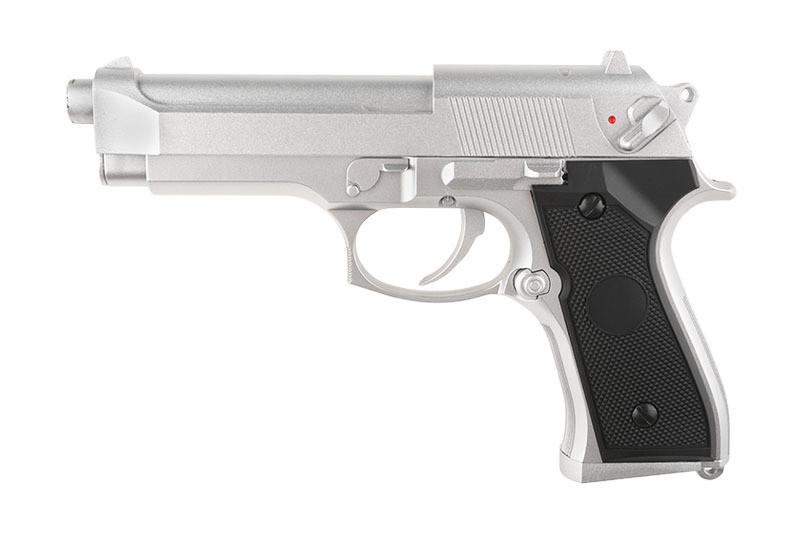 Страйкбольный пистолет CM126 Silver [CYMA] (для страйкбола)