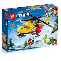 Конструктор LEPIN 02090 CITY -  Вертолёт скорой помощи (212 дет.)