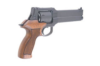 Реплика револьвера Mateba X-Cartridge (Heavy Weight / Wooden Grip) [Marushin] (для страйкбола), фото 3